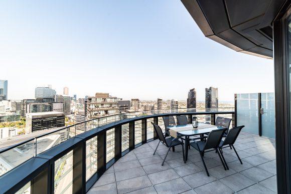 Top Floor Sub Penthouse 3 Bedroom / 2 Bathroom Apartments with City & Sea Views